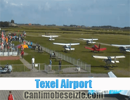 Texel Airport canli mobese izle