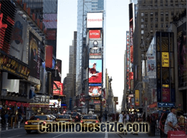 Times Square Toshiba Vision canli izle