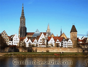 Ulm Katedrali canli mobese izle
