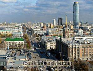 Yekaterinburg 1905 Alanı canli izle