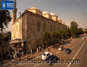 Bursa Ulu Camii canli mobese izle