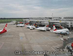 Düsseldorf International Airport webcam live