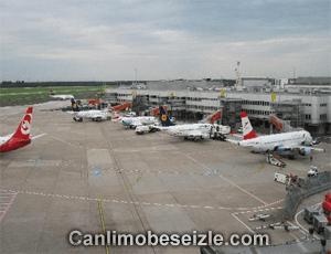 Düsseldorf International Airport webcam live