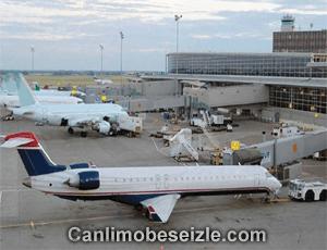 Edmonton International Airport live webcam