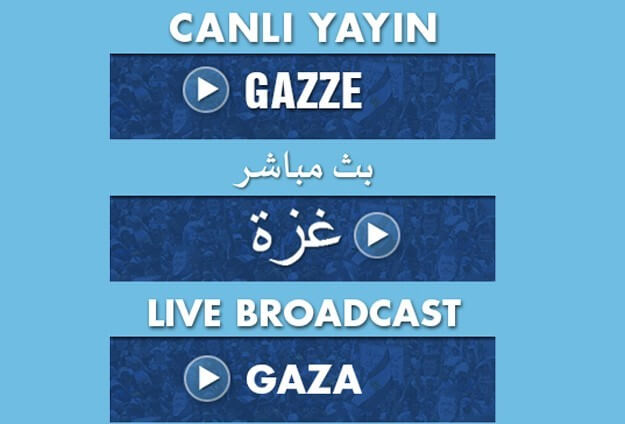 Filistin Gazze mobese canli izle live