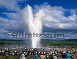 Geysir Sıcak Su Kaynağı canli izle