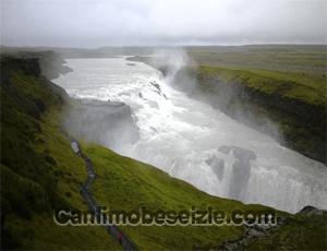 İzlanda Gullfoss Şelalesi canli izle