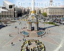 Kiev Bağımsızlık Meydanı canli mobese izle
