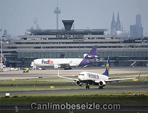 Köln Bonn Airport Lice webcam izle