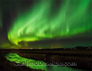 İzlanda Kuzey Işıkları canli izle