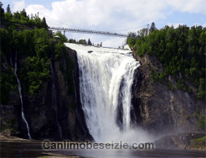 Montmorency Falls Park canli izle