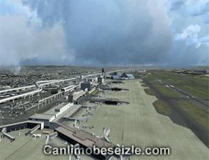 Osaka International Airport live webcam