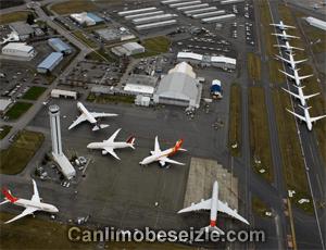 Paine Field Airport live webcam