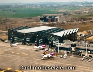 Gdansk Lecha Walesa Airport live webcam