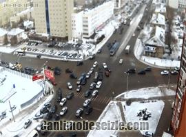 Rusya Ufa Şehri Trafik canli izle