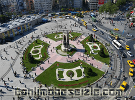 Taksim Meydanı Mobese Kameraları Canlı İzle