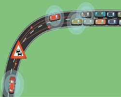Adana Bursa Arası Trafik Yoğunluğu Haritası,Yol Durumu
