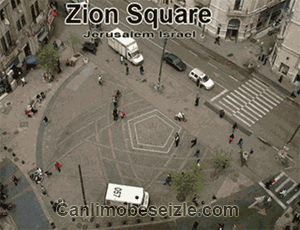 İsrail Zion Meydanı canli izle