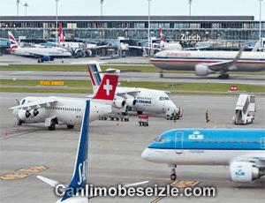 Zurich Airport live webcam izle