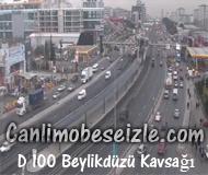 İstanbul D 100 Beylikdüzü Kavsağı canli izle