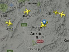 Ankara Esenboğa Havalimanı Canlı Uçuş Takip