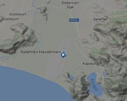 Dalaman Havalimanı Canlı Uçuş Takip