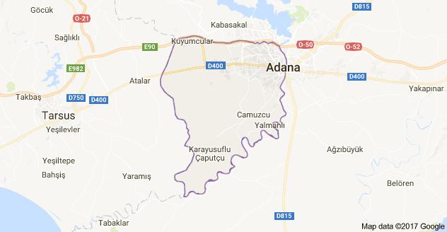 Adana Seyhan Uydu Görüntüsü