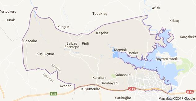 Adana Çukurova Uydu Görüntüsü