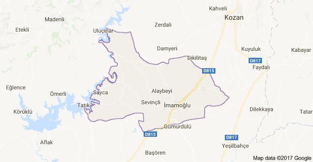 Adana İmamoğlu Uydu Görüntüsü