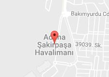 Adana Şakirpaşa Havalimanı Uydu Görüntüsü