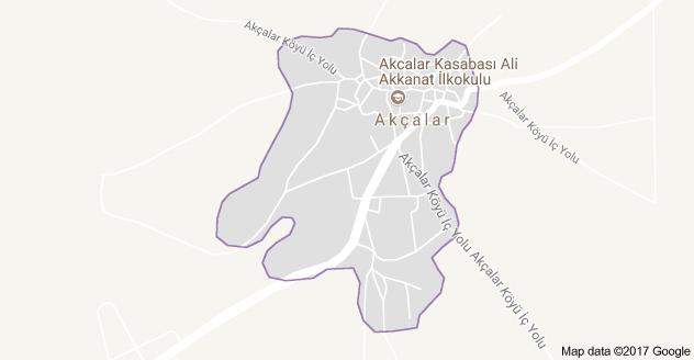 Seydişehir Akçalar Uydu Görüntüsü