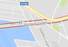 Avrasya Tüneli Uydu Görüntüsü ve Haritası