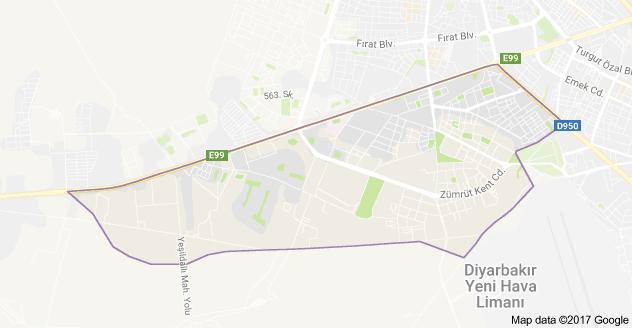 Bağlar Mahallesi Uydu Görüntüsü ve Haritası Bağcılar İstanbul