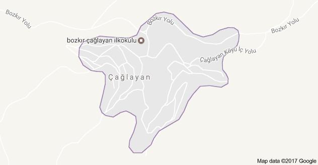 Bozkır Çağlayan Uydu Görüntüsü ve Harita