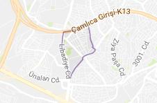 Fetih Mahallesi Uydu Görüntüsü ve Haritası Ataşehir İstanbul