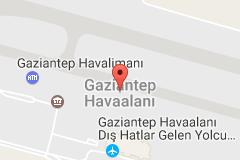 Gaziantep Havalimanı Uydu Görüntüsü