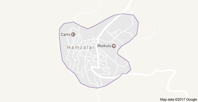 Bozkır Hamzalar Uydu Görüntüsü ve Harita