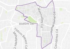 Kocasinan Mahallesi Uydu Görüntüsü Haritası Bahçelievler İstanbul
