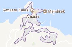 Amasra Uydu Görüntüsü Uydu Haritası Bartın