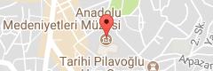 Anadolu Medeniyetleri Müzesi Uydu Görüntüsü Uydu Haritası