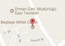 Beştepe Millet Camii Uydu Görüntüsü Uydu Haritası Ankara