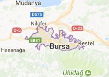 Bursa 2017 Uydu Görüntüsü Uydu Haritası