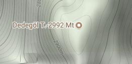 Dedegöl Dağı Uydu Görüntüsü Uydu Haritası Isparta