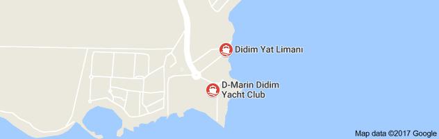 Didim Yat Limanı Uydu Görüntüsü Uydu Haritası