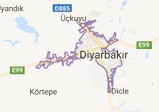 Diyarbakır Uydu Görüntüsü Uydu Haritası