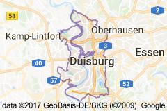 Duisburg Uydu Görüntüsü Uydu Haritası Almanya