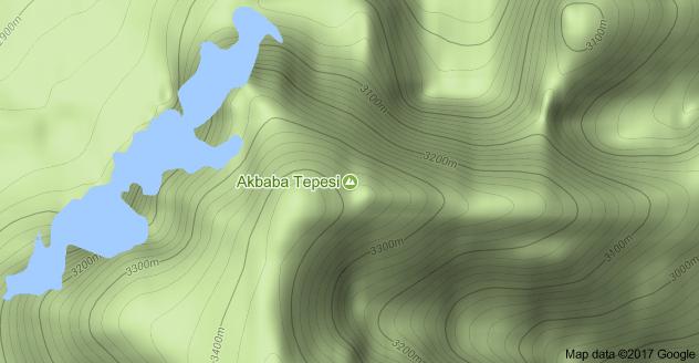 Erzincan Akbaba Tepesi Uydu Görüntüsü Uydu Haritası