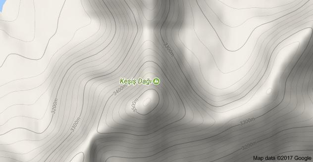 Erzincan Keşiş Dağı Uydu Görüntüsü Uydu Haritası