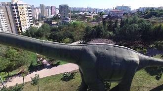 Adana Jurassic Park Havadan Kamera Görüntüsü İzle