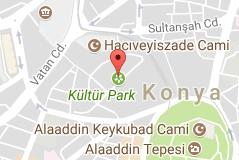 Kültürpark Uydu Görüntüsü Uydu Haritası Konya